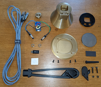 Figure 8: The components of an eBell